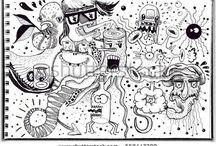 I love Doodling! / Doodling - is my religion and meditation.