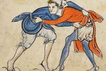 Se battre au Moyen Âge