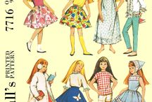 PDF Vintage Doll Sewing patterns / these patterns have all been reproduced. and come to you in PDF form, so no shipping!!