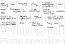 Mom You Rock / Inspiration for this stamp set!