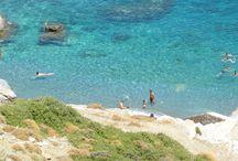 Beaches of Amorgos Island, Greece