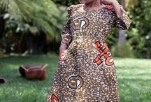 Aafrikaanse kleren/mode