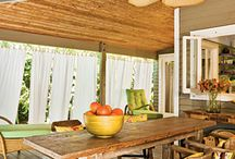 Coastal Decor - Outdoor Living Spaces / This board contains ideas for Coastal Decor in the outdoor living spaces like yards, pools, decks, lanai's.