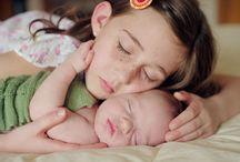 Shoot: Newborn with Sissy / by Esme Ramirez
