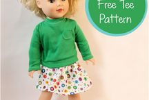 Sewing & crochet -- Clothes for Charlotte Doll
