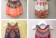 Baby African Print Fashion / Collection of baby fashion in African Print
