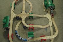Playtime: Wooden Trains