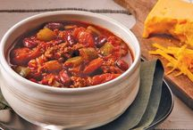 Soup, Stew, Chili and Chowder Recipes / Recipes for soups, stews and chowders.