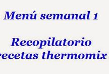 menus thermomix