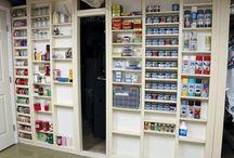 Storage, Organization, & Decorating