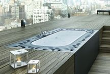Arima - GLASS / ARIMA- Hydromassage mini pool spa, design by Glass Lab