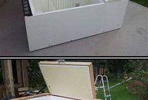 transformar geladeira velha em coisa útil