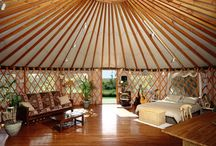 Yurt Love / Inspiration for the future yurt building expedition