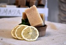 Olive Oil Soaps / You can find pure Greek handmade olive oil soaps in different aromas & big variety.