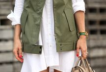 NEUTRAL OUTFITS / A collection of casual, street style outfits in a neutral color palette.
