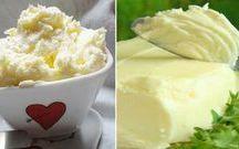 Domácí máslo, sýry...