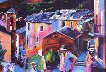 Peinture / La Corse et l'Afrique en peinture