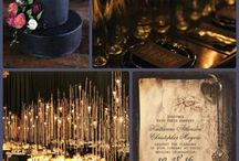 Gothic Themed Weddings / Gothic ideas and inspiration for the dramatic wedding!