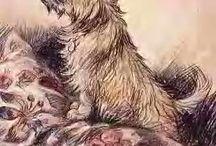 Cairn Terrier Art / Art involving Cairn Terriers