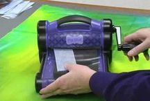 Applique/sewing with Sizzix machine