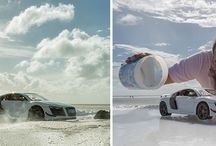 Mind Blowing Photography Of Audi Miniature Toy Car / Audi asked their photographer to shoot their $160,000 sports car Audi R8. You will be shocked to know that this guy used a $40 miniature toy car to shoot the extraordinary photos.