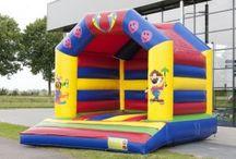 Springkussen Circus Overdekt / Met dit vrolijke springkussen wordt elk feest een succes. Het kussen is geheel overdekt.