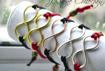 Infinity bracelet / by Ria Alemina Ginting