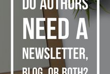 Newsletter Help For Authors / Here are some great tips, information and insight for authors to make the most of their most powerful marketing tool - their newsletter! / by Mixtus Media