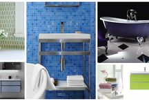 SPRING / Bring Spring into the bathroom. Colours give rooms personality, create comfort and atmosphere