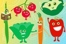Bimbi che odiano la verdura / Alcuni consigli per giocare con il tuo bambino e fargli scoprire i segreti della #verdura di #stagione.