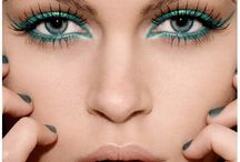 Emerald Green! / I just got my Color of The Year makeup (not too close to Sephora; what can I say), and got inspired.... So here it is!