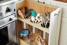Ideas para organizar nuestra cocina / Ideas para organizar nuestra cocina te harán la vida más fácil.  más ideas en https://decoracion2.com