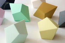 Geometriset paperiornamentit