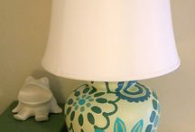 Lamps and Shades and Wire, Oh My! / by April Riley