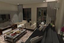 sala de estar / decoração de salas de estar