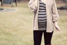 Fall/winter maternity style