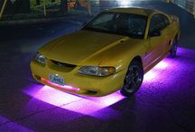 LED Automobile Exterior Accent Lighting / Make a bold statement! Illuminate the streets with a variety of eye catching accents for your vehicle. An assortment of products in an array of vivid colors allow maximum design flexibility.
