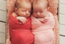Twin baby photo shoot ideas