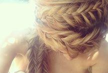 BRAIDS + BRAIDED HAIRSTYLES / braids, braided hairstyles, braided updo, plaits, plaits hairstyles, braided ponytails