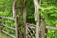 rustic gazebo / driftwood