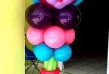 decoração  de balão