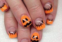 Halloweennaglar