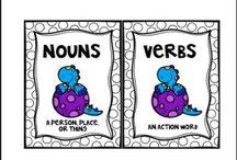 SCHOOL: PARTS OF SPEECH