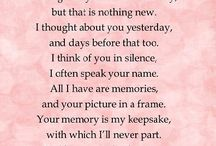 Miss You Mom / 10/8/49-7/10/16