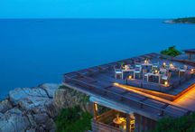Dining on The Rocks / Romantic Dining Under A Canvas of Stars  - For more information please visit: http://www.samuirestaurantguide.com/dining-on-the-rocks/  - Or call +66 7724 5678.