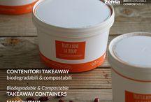 Contenitori Takeaway - Takeaway containers / Perfetti per consumare il cibo altrove, soluzioni per cibi caldi, fredde, liquidi e non. Food on the go! Perfect for eating elsewhere, we have containers for cold, warm and liquid food.