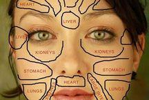 Gezondheid,gezichreflexiologie