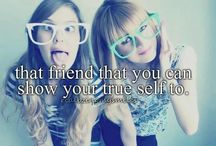 Best Friends / Do you have a best friend? I have, and I really like her! The life would be very boring without her!
