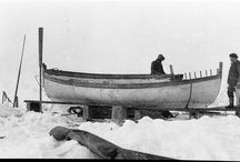 Shackleton - James Caird / The famous rescue boat from Ernest Shackletons Endurance Expedition
