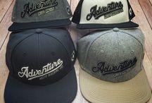 ADV Addicts Moto Apparel Co. New HeadWear Collection / Snap Backs, Baseball Caps, Flatbills